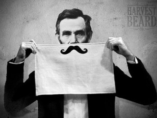 Mustache Shaving Towels