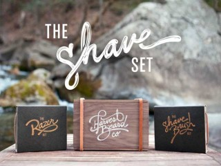 Harvest Shaving Set